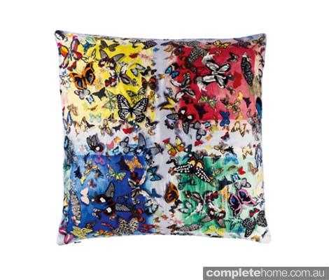 Christian Lacroix cushion SS2014 Color Party! - Front