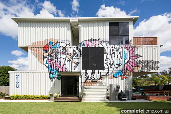 PTE home Chapter Shipping container house at graceville