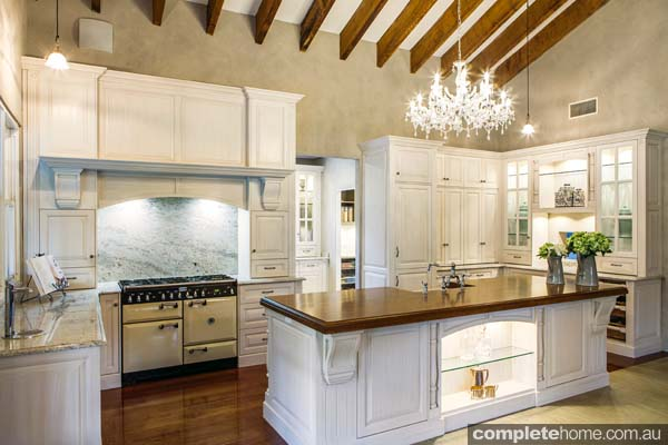 Real kitchen: French appeal