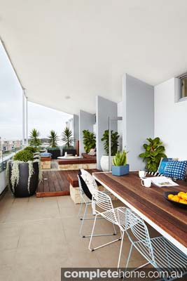 From plain to paradise, this transformation proves that when it comes to balconies, the sky's the limit