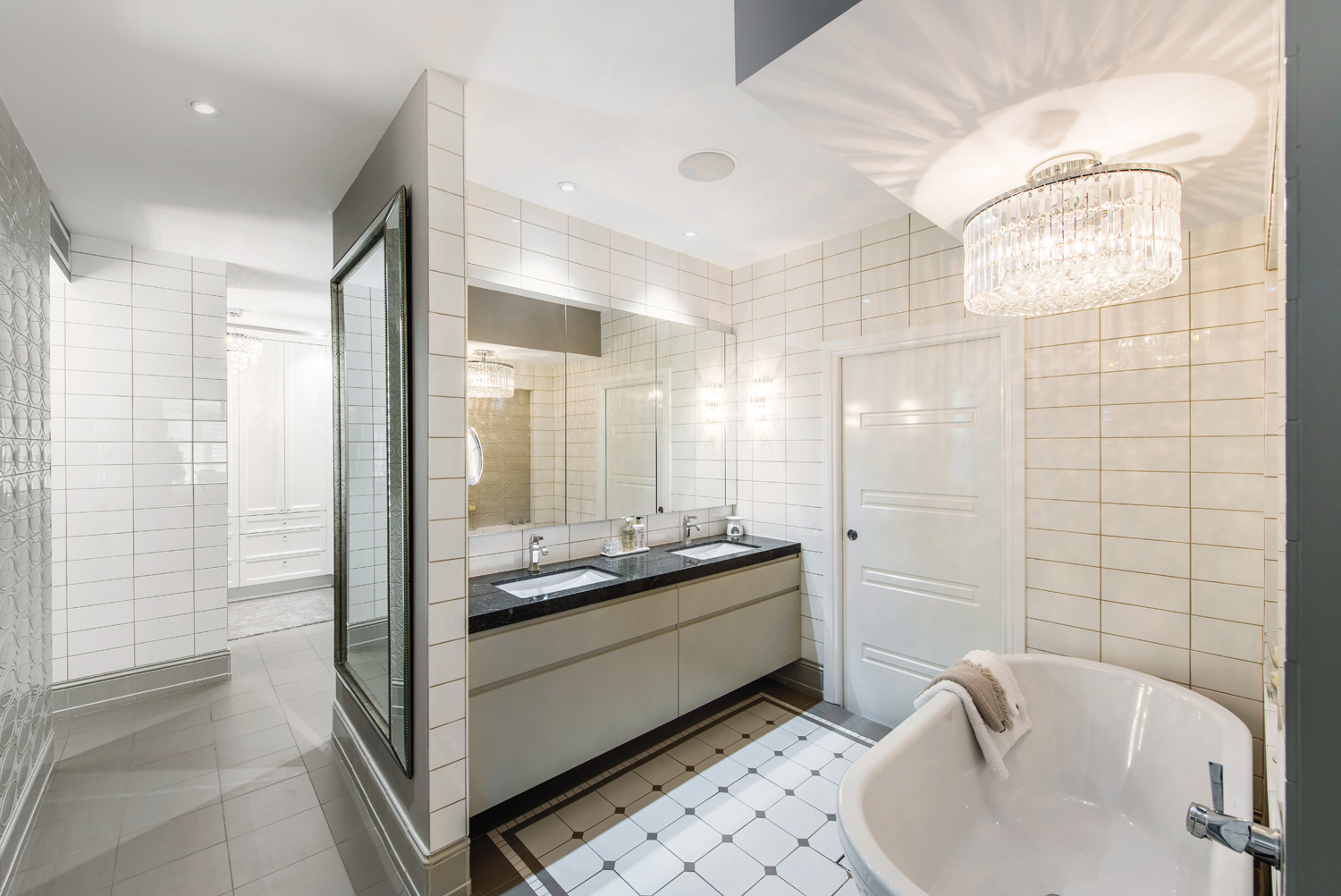 A bathroom that is the epitome of luxury