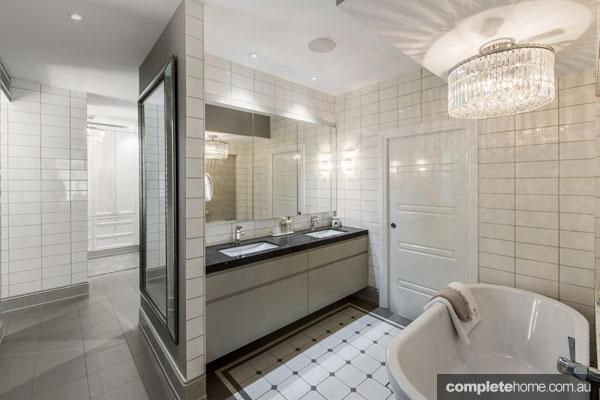 Luxury bathroom: Million-dollar baby