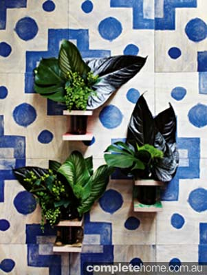 Bonnie & Neil_Timber Wall Vase & Tile