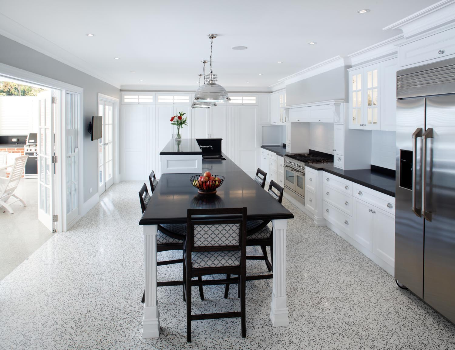 Elegant Hamptons Style Kitchen Design Completehome