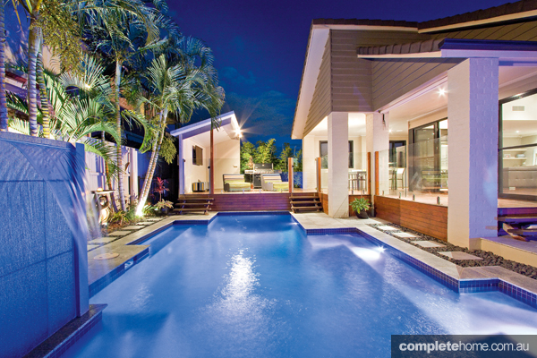 Designed with stylish entertaining in mind, this modern pool project ticks all the boxes