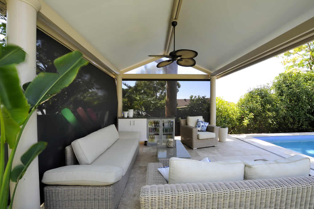 Summer getaway: Outdoor cabana haven