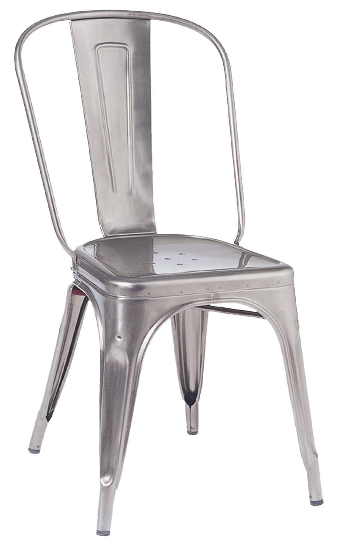 4 Tolix Chaise # Brut Verni_de