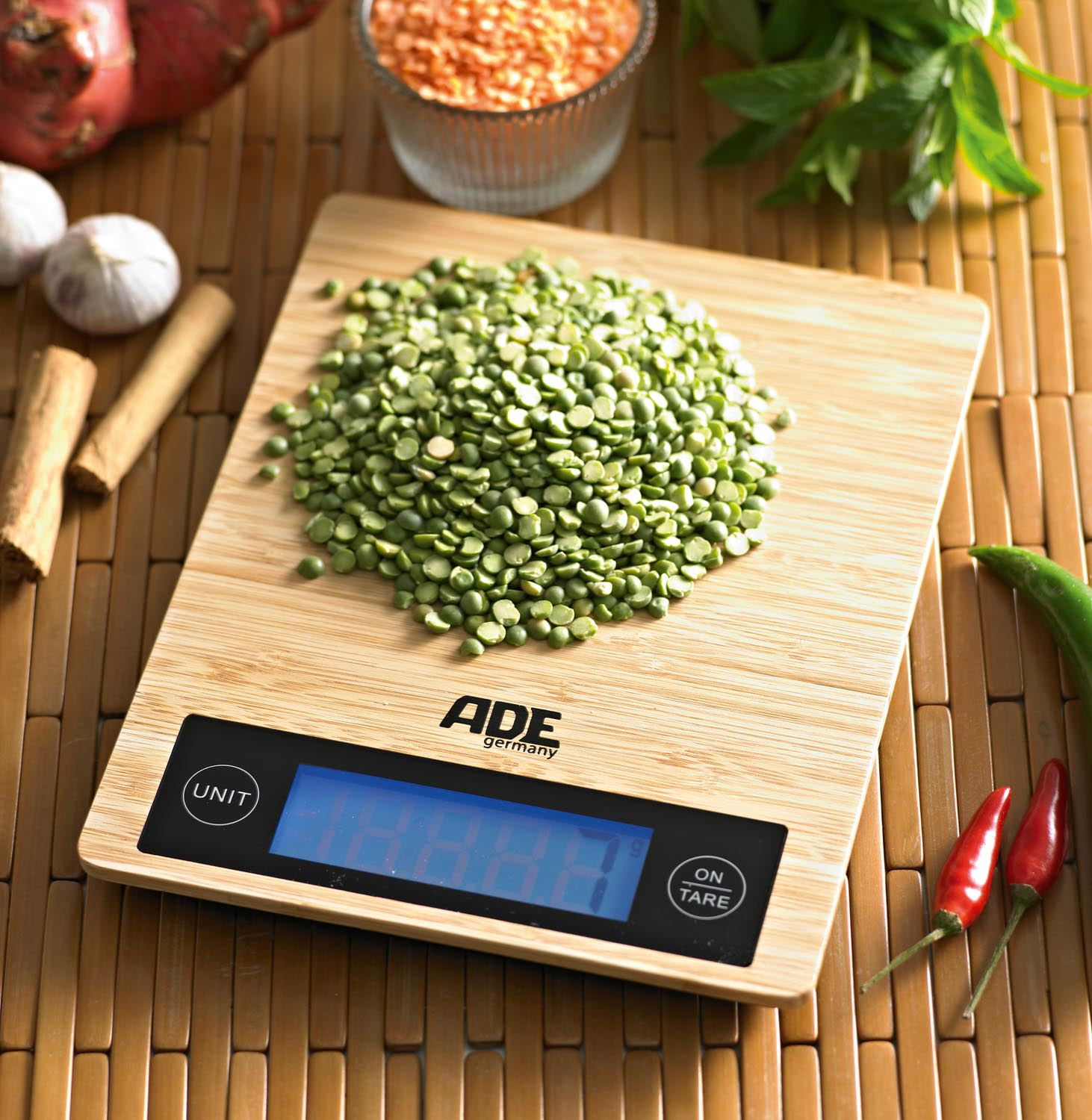 ADE bamboo scale-LS