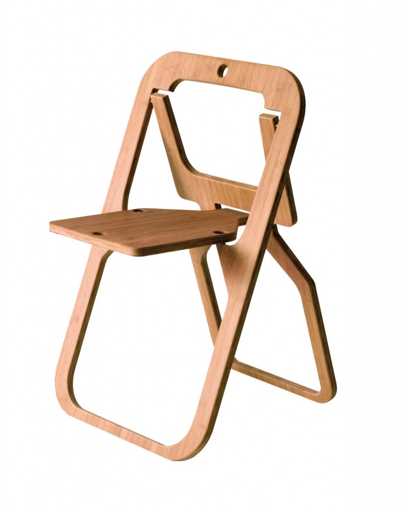 Bamboo folding chair DESILE_de