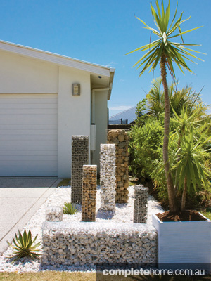 Decorative gabion walls, letterboxes, planter boxes, seating and a whole lot more