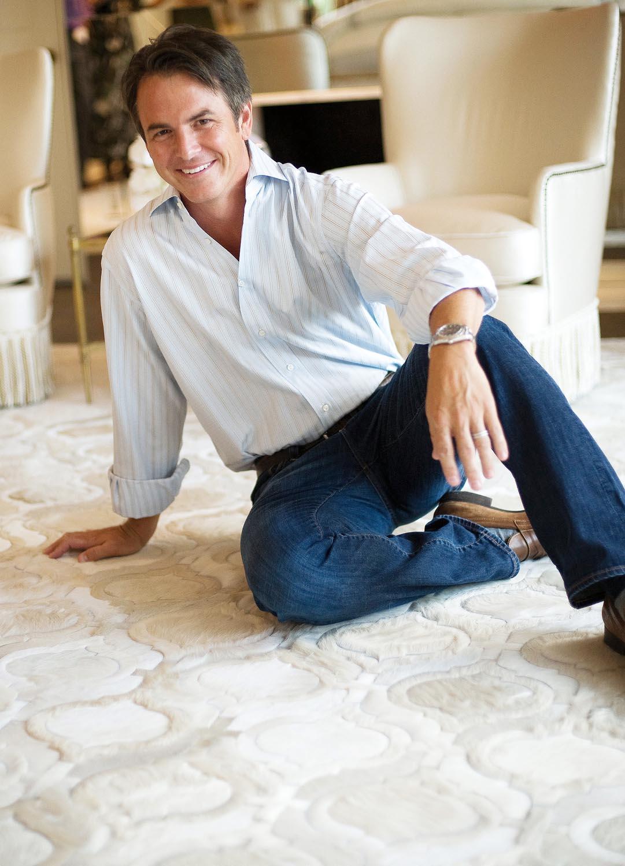 Kyle Bunting on rug hi-res