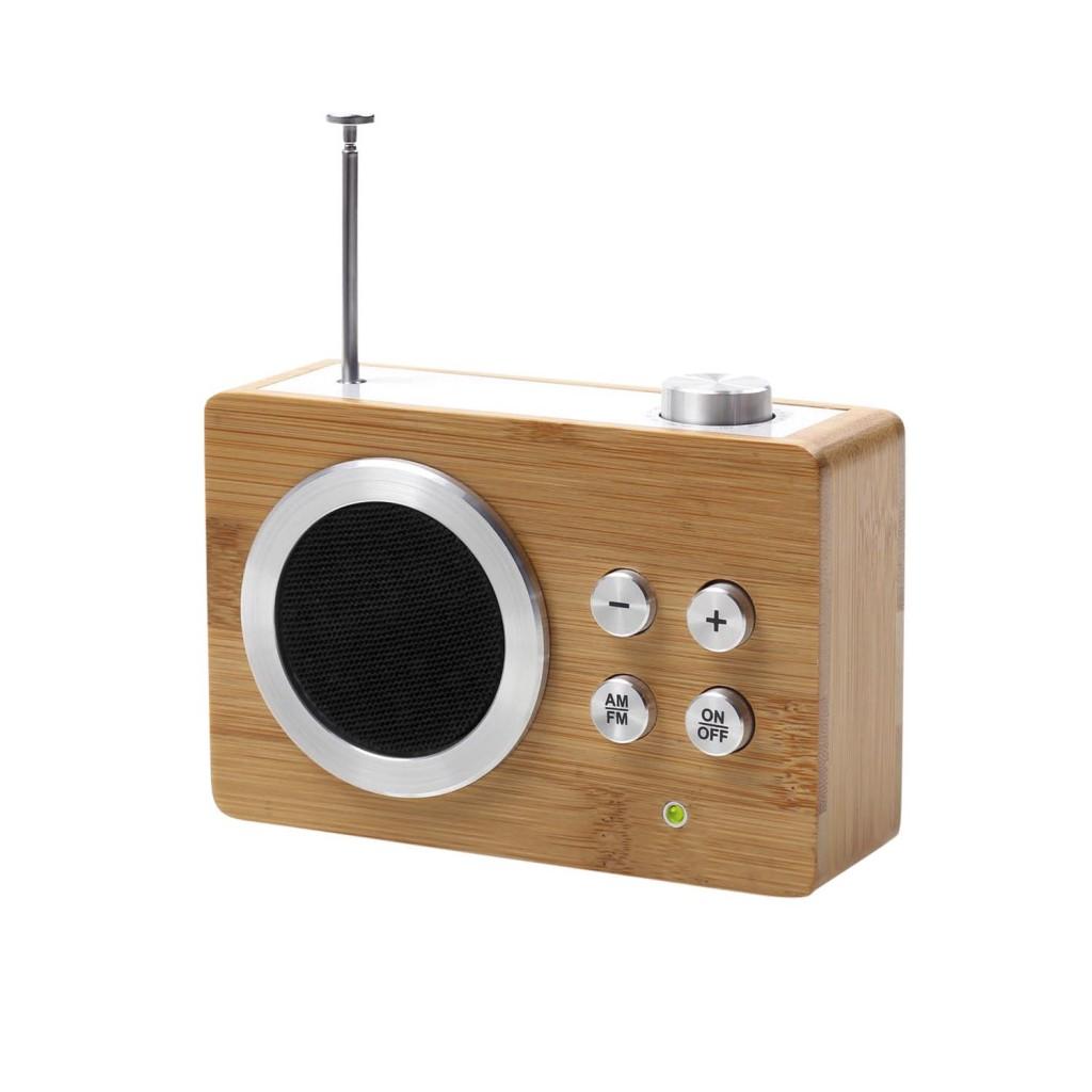 Lexon LA69 Mini Dolmen Radio Bamboo_de