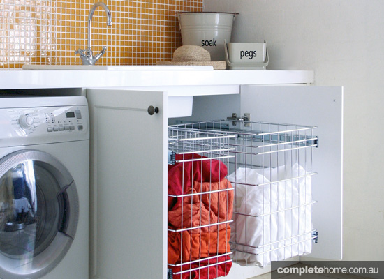 Top five ways to sort your laundry storage