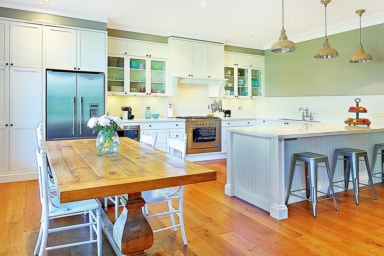 A sleek kitchen design