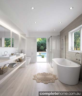 A bathroom that looks great and works well can add considerable value to your home and quality of life. Whether you're creating a functional family bathroom or a relaxing retreat, apart from plumbing and electrical work carried out by qualified tradespeople, renovating a bathroom is within the scope of the average handyperson