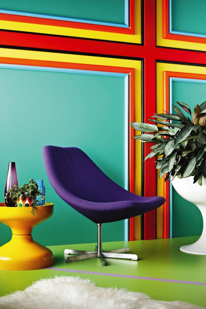 Dulux Australia Interior, Inspired by Romance Was Born's 2014 AW Collection, Room named Portal3, Image credit Mike Baker