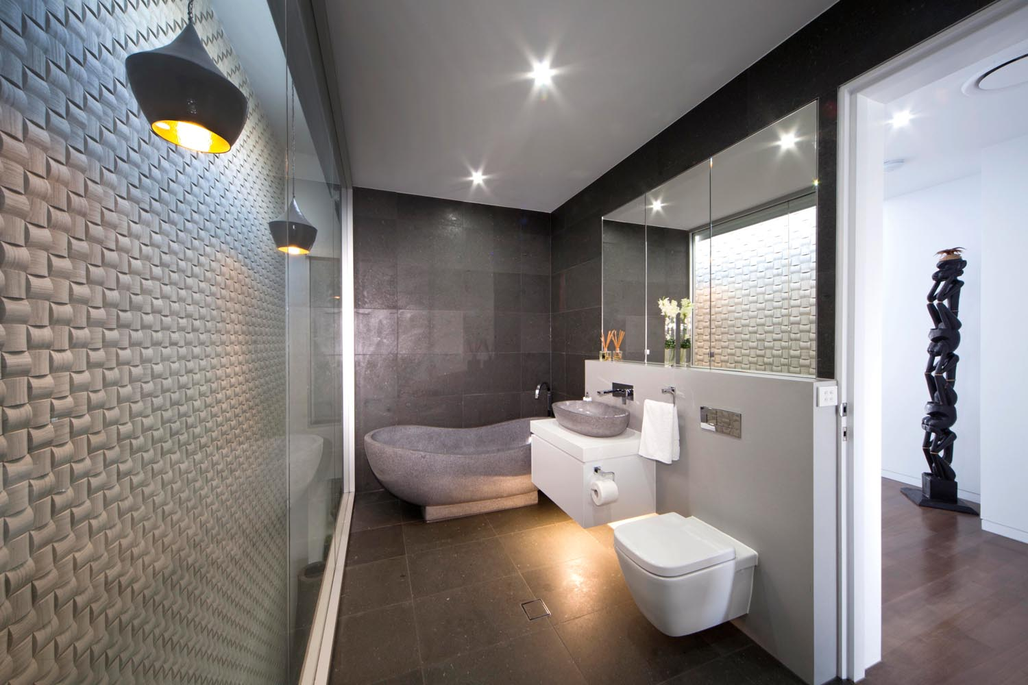 grand designs australia sleek and sustainable sydney home - Grand Designs Bathrooms