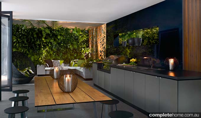 Compact laminate: Indoor outdoor living