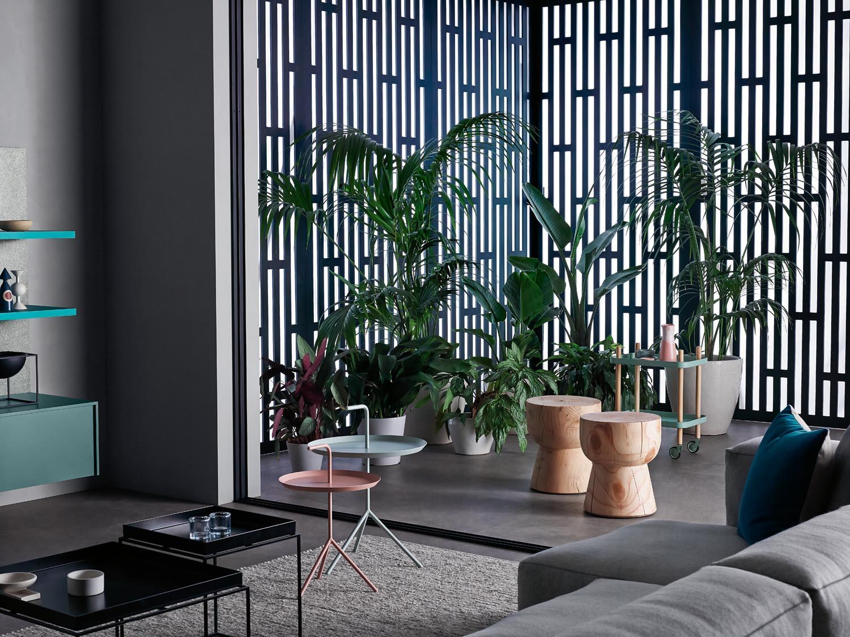 We love this indoor outdoor space