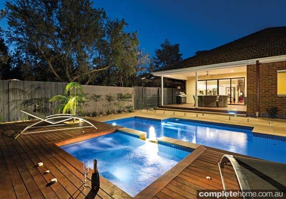Relax and unwind in your own backyard retreat