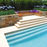 Brimming with natural beauty: Gorgeous landscaped pool
