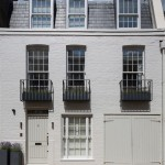 Champagne chic: London mews house