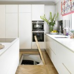 White Spiral Cellar with recessed trap door (2)