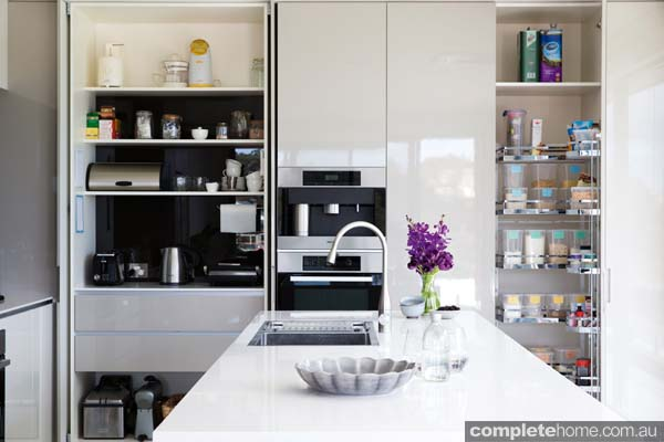 A contemporary classic: Kitchen minimalism