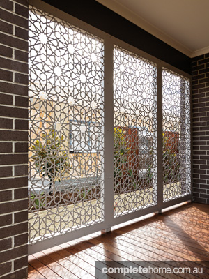 Privacy In Style Decorative Outdoor Screens Completehome