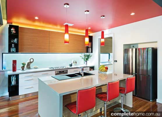 Splash of colour: Asian-inspired kitchen heaven
