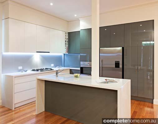 Glamorous revamp: Kitchen redesign
