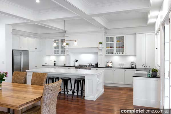All white Kitchen Beauty Completehome