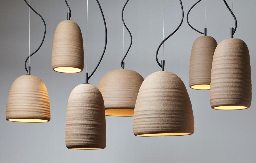 Adam Cornish Stoneware Lamps1944