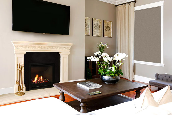 New AF700 gas fireplace from Escea