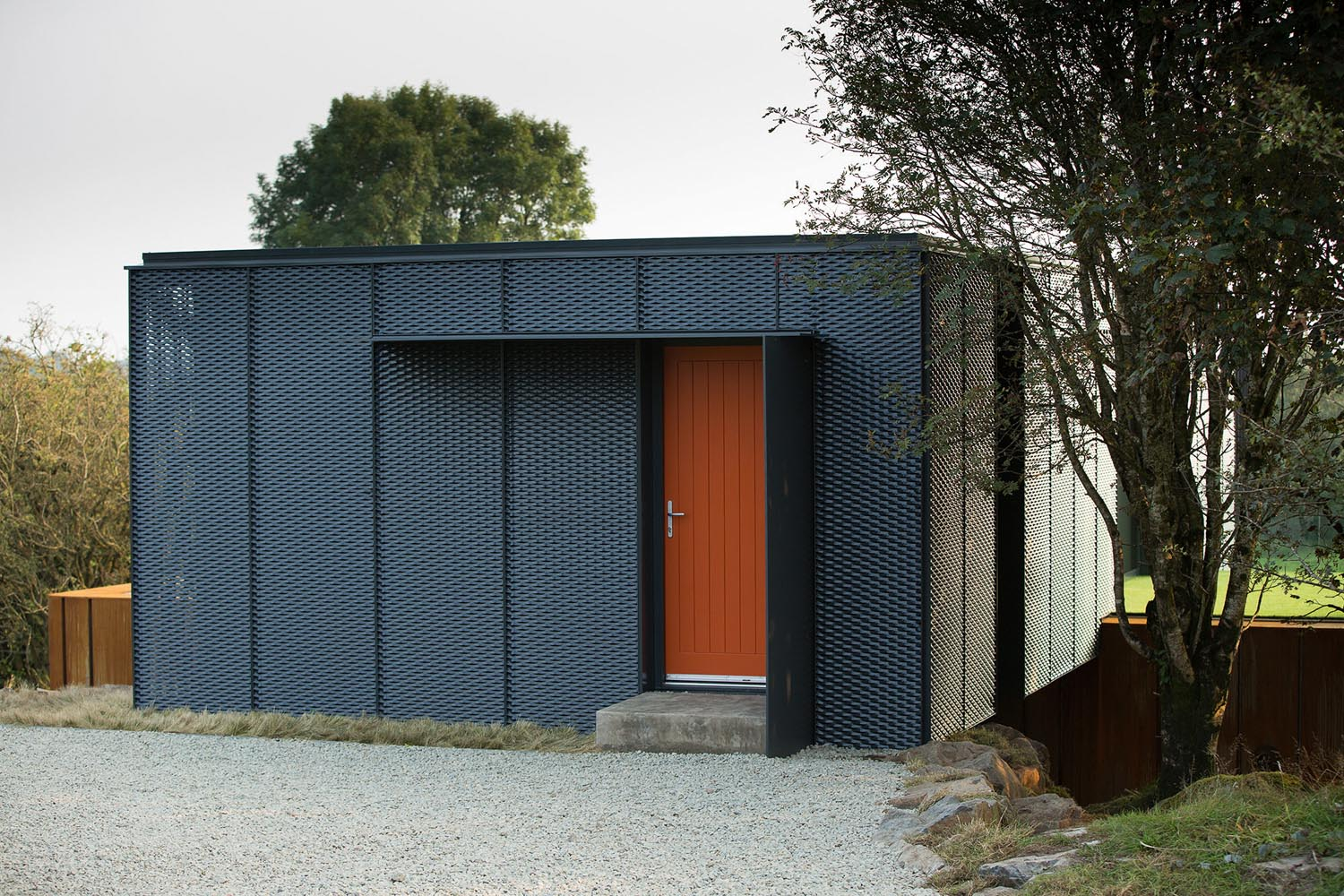Grand designs county derry shipping container house for Design shipping container home online