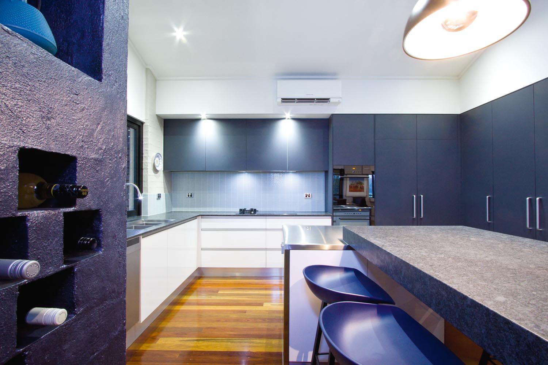 Timber kitchen: an innovative statement