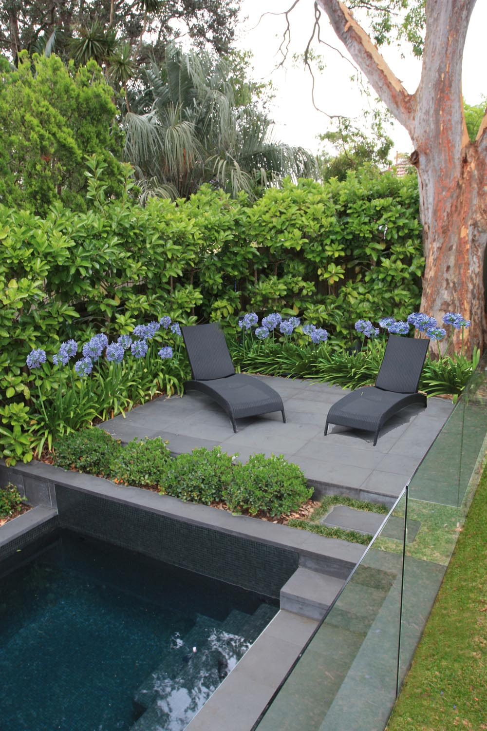 Outdoor furniture and entertaining space