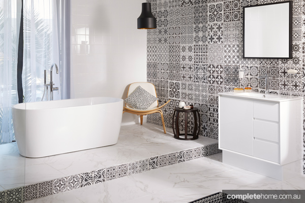 New release classics for a contemporary bathroom