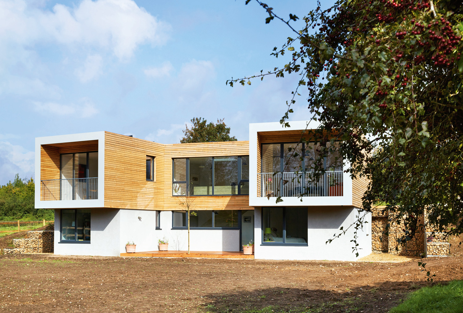 Grand designs uk idyllic and super eco home completehome - Building a new home ideas ...