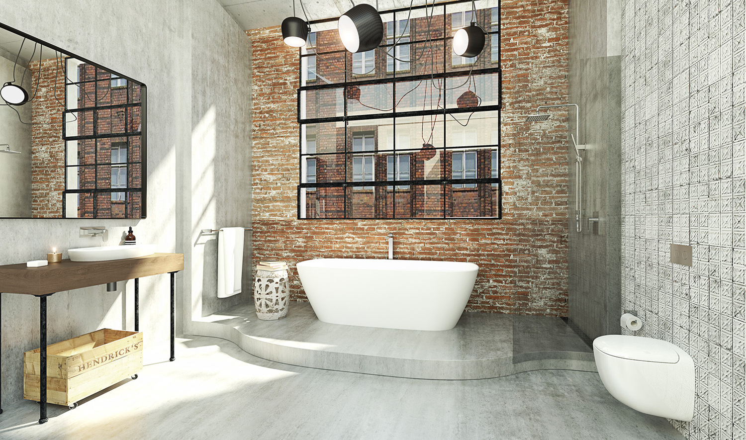 The latest in bathrooms from caroma completehome for Bathroom ideas industrial