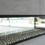 Industrial design, cosy home: the Escea DX1500 gas fireplace