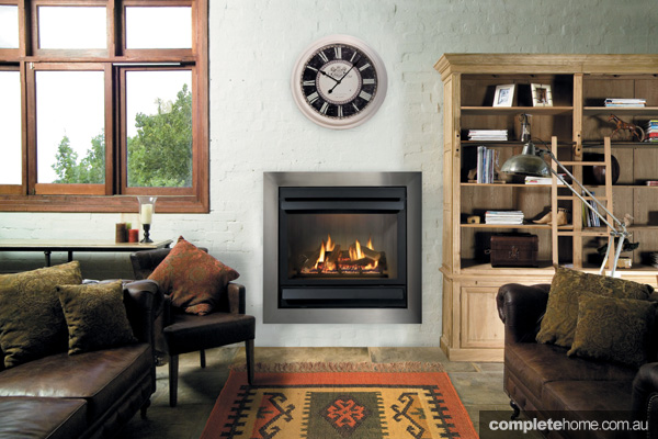 Comfort and style: Designer fireplaces