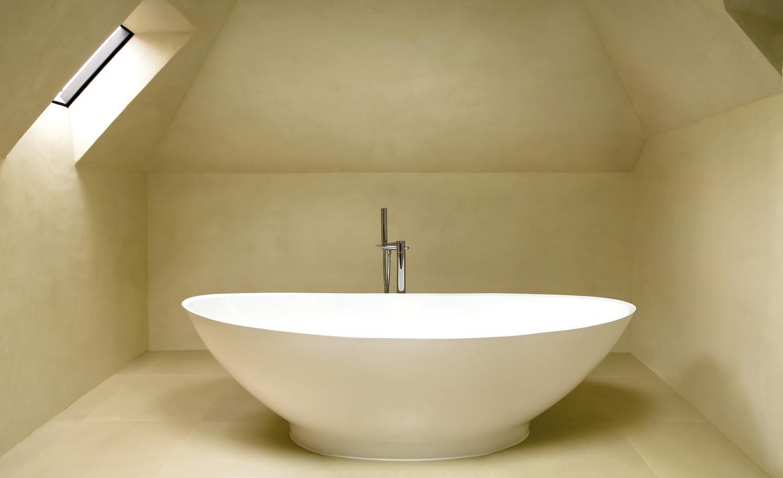 A freestanding bath is a stunning design feature