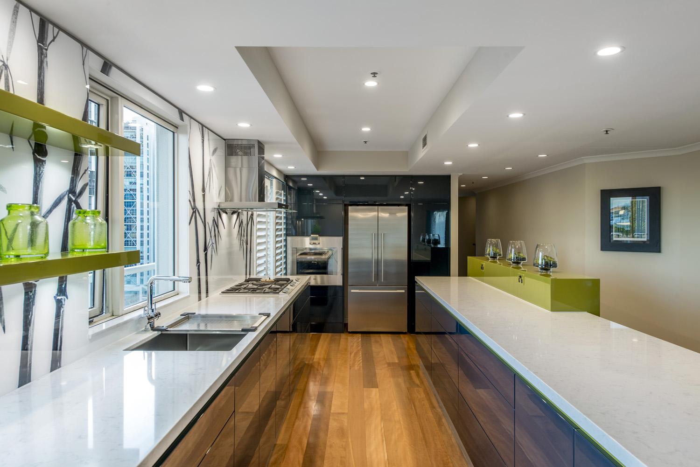 A travel inspired kitchen