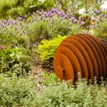 Garden sculptures: art and geometry come together