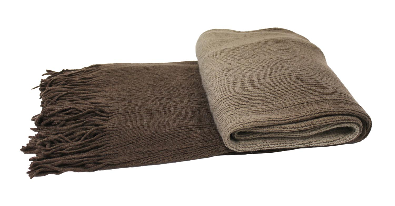 Ombre Throw in Mocha_1