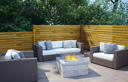 Real Flame's new range of outdoor pit fires
