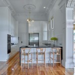 Spacious living: a modern kitchen