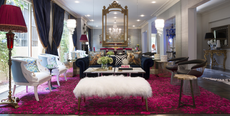 Hollywood-style home design: With a twist