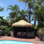 Why use synthetic thatch for your gazebo